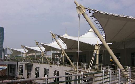 商业设施膜建筑